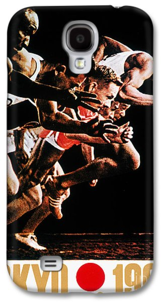 Footrace Galaxy S4 Cases - Olympic Games, 1964 Galaxy S4 Case by Granger