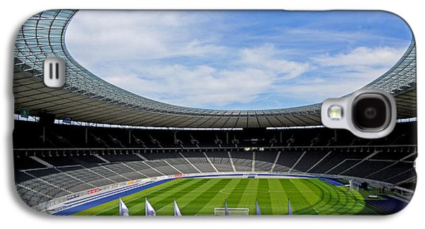Deutschland Galaxy S4 Cases - Olympic Stadium Berlin Galaxy S4 Case by Juergen Weiss