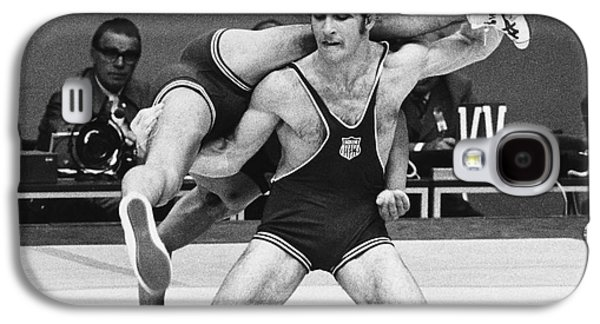 Athlete Photographs Galaxy S4 Cases - Olympics: Wrestling, 1972 Galaxy S4 Case by Granger