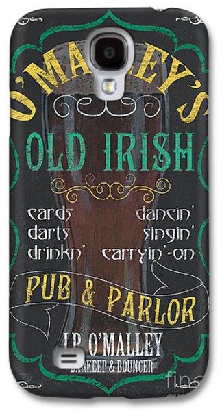 Singing Galaxy S4 Cases - OMalleys Old Irish Pub Galaxy S4 Case by Debbie DeWitt