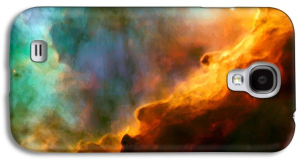 Colorful Abstract Galaxy S4 Cases - Omega Swan Nebula 3 Galaxy S4 Case by The  Vault - Jennifer Rondinelli Reilly