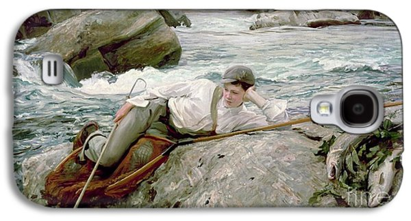 On His Holidays Galaxy S4 Case by John Singer Sargent