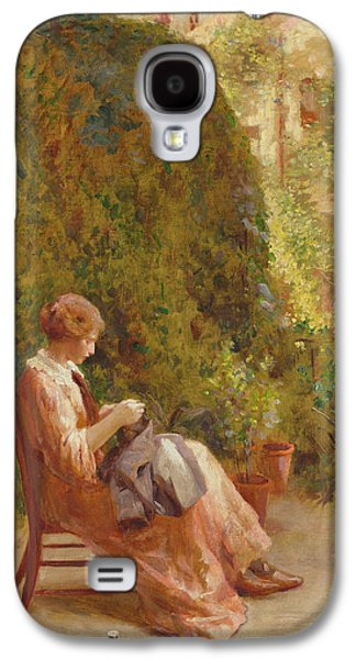 On The Balcony Galaxy S4 Case by Henry Thomas Schafer