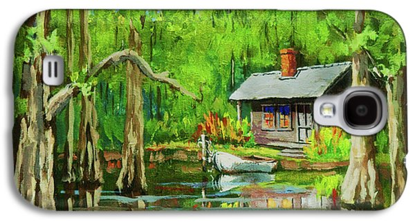 On The Bayou Galaxy S4 Case by Dianne Parks