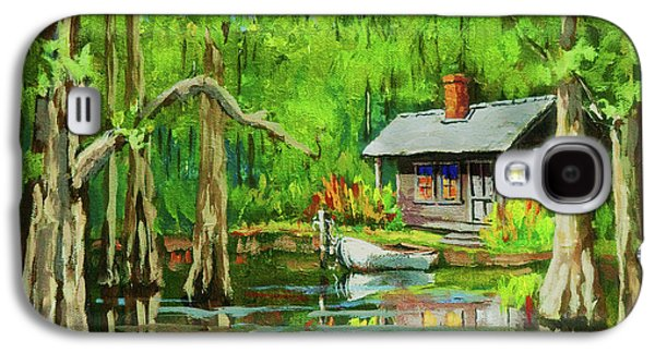 Cypress Swamp Galaxy S4 Cases - On the Bayou Galaxy S4 Case by Dianne Parks