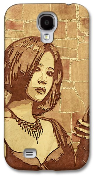 Sculptures Galaxy S4 Cases - On The Clock Galaxy S4 Case by Bobby Zeik