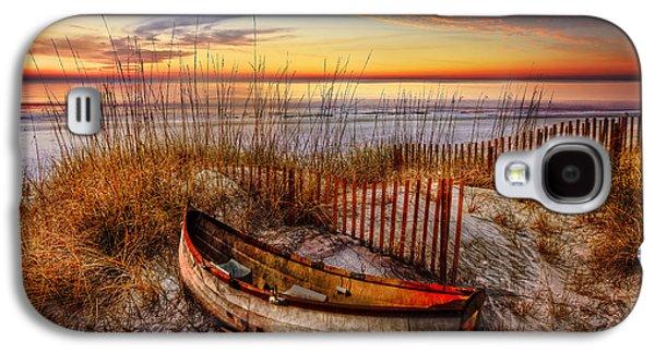 Sanddunes Galaxy S4 Cases - On The Dunes Galaxy S4 Case by Debra and Dave Vanderlaan