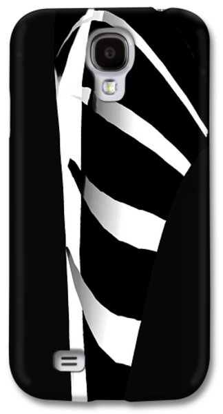 Abstract Tapestries - Textiles Galaxy S4 Cases - On the Hook Galaxy S4 Case by Suzi Freeman