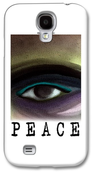 Inner Self Galaxy S4 Cases - On the Inside Looking Out Galaxy S4 Case by MyChicC