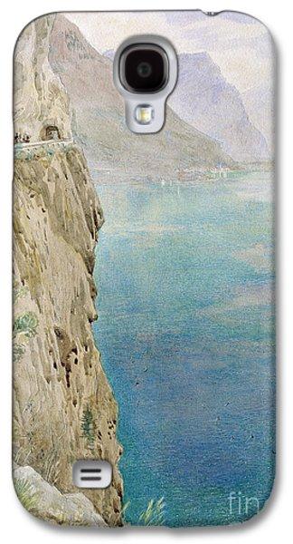 Mediterranean Landscape Galaxy S4 Cases - On the Italian Coast Galaxy S4 Case by Harry Goodwin