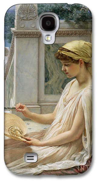 Best Sellers -  - Ancient Galaxy S4 Cases - On the Terrace Galaxy S4 Case by Sir Edward John Poynter