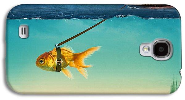Shark Digital Galaxy S4 Cases - On The Way  Galaxy S4 Case by Mark Ashkenazi