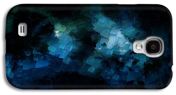 Modern Abstract Galaxy S4 Cases - On Top Of The World Galaxy S4 Case by Sir Josef  Putsche Social Critic