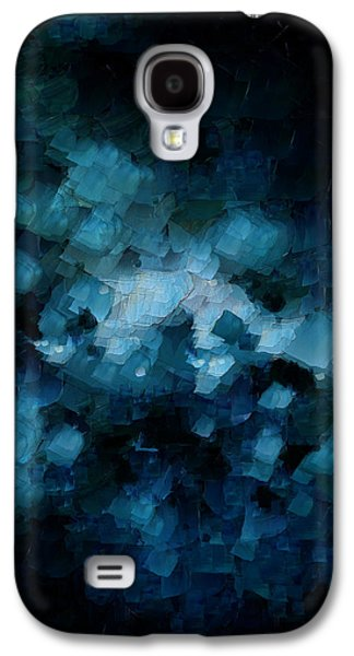 Modern Abstract Galaxy S4 Cases - On Top Of The World - Two Galaxy S4 Case by Sir Josef  Putsche Social Critic