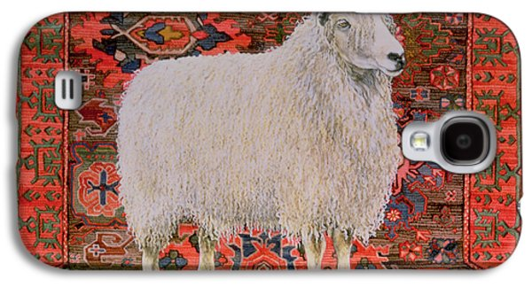Persian Carpet Galaxy S4 Cases - One Hundred Percent Wool Galaxy S4 Case by Ditz