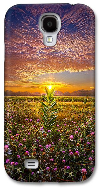 Landscapes Photographs Galaxy S4 Cases - One Last Kiss Galaxy S4 Case by Phil Koch