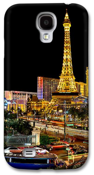 Las Vegas Galaxy S4 Cases - One Night In Vegas Galaxy S4 Case by Az Jackson