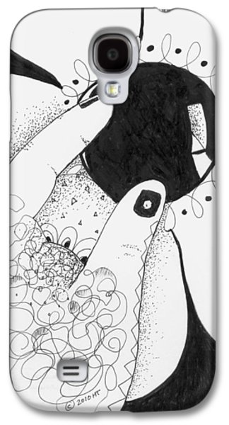 One Way Or Another Galaxy S4 Case by Helena Tiainen