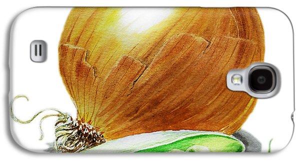 Onion And Peas Galaxy S4 Case by Irina Sztukowski