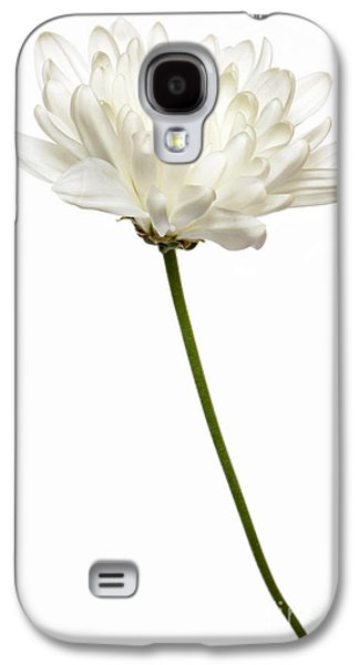 Flower Design Photographs Galaxy S4 Cases - One White One Galaxy S4 Case by Dan Holm