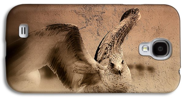 Nature Abstracts Galaxy S4 Cases - Open Wings Galaxy S4 Case by Susanne Van Hulst