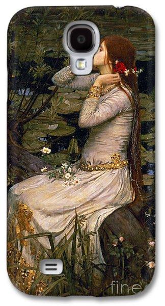 Ophelia Galaxy S4 Case by John William Waterhouse