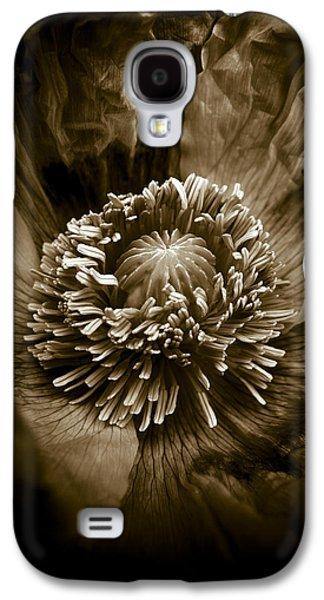 Opium Poppy Papaver Somniferum Galaxy S4 Case by Frank Tschakert