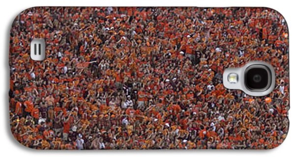 Sports Photographs Galaxy S4 Cases - Orange Effect Celebration Game One 2015 Galaxy S4 Case by Betsy C  Knapp