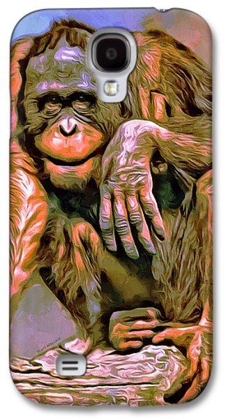 Orangutan Portrait Galaxy S4 Case by Scott Wallace