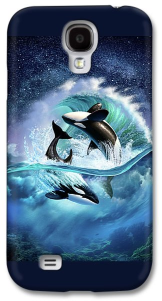 Orca Wave Galaxy S4 Case by Jerry LoFaro