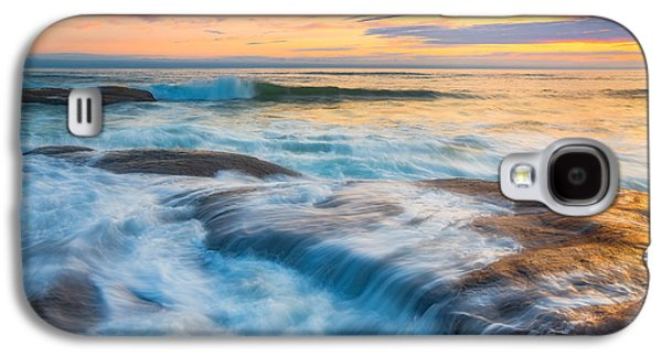 Landscape Acrylic Prints Galaxy S4 Cases - Oregons Gold Coast Galaxy S4 Case by Darren  White