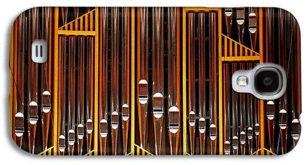 Phila Galaxy S4 Cases - Organ Opus 76 - Philadelphia Galaxy S4 Case by Rona Black