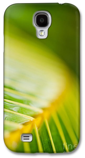 Abstracts Galaxy S4 Cases - Organic Palm Frond Macro Maui Hawaii Galaxy S4 Case by Sharon Mau