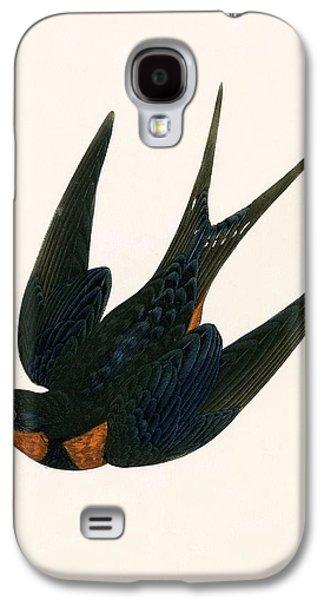 Oriental Chimney Swallow Galaxy S4 Case by English School