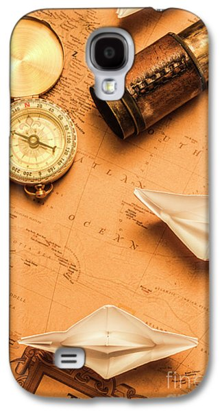 Origami Paper Boats On A Voyage Of Exploration Galaxy S4 Case by Jorgo Photography - Wall Art Gallery
