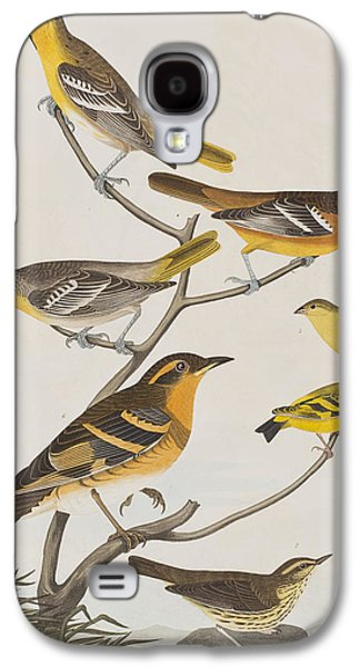 Orioles Thrushes And Goldfinches Galaxy S4 Case by John James Audubon