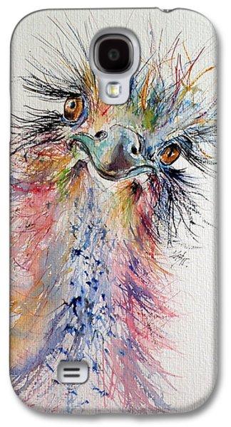 Ostrich Galaxy S4 Case by Kovacs Anna Brigitta