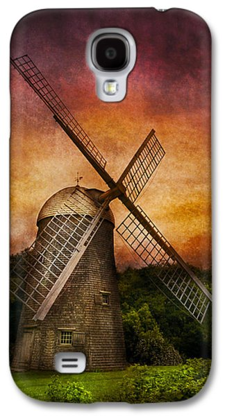 Old Mill Scenes Photographs Galaxy S4 Cases - Other - Windmill Galaxy S4 Case by Mike Savad