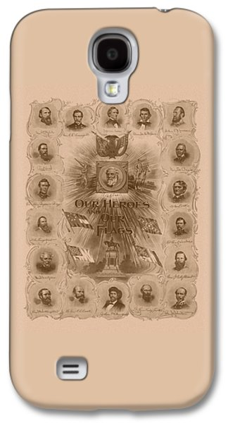 Stonewall Galaxy S4 Cases - Our Heroes and Our Flags Galaxy S4 Case by War Is Hell Store