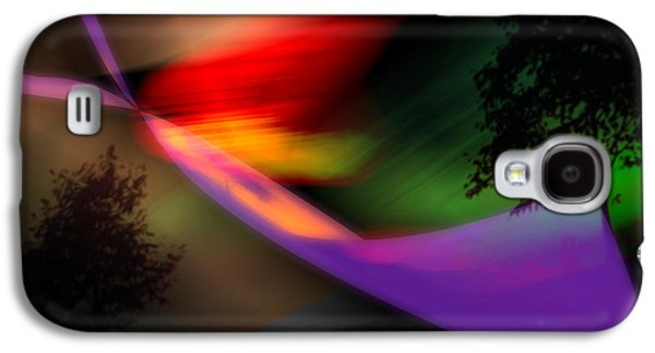 Abstract Digital Digital Galaxy S4 Cases - Our World Galaxy S4 Case by Gerlinde Keating - Keating Associates Inc