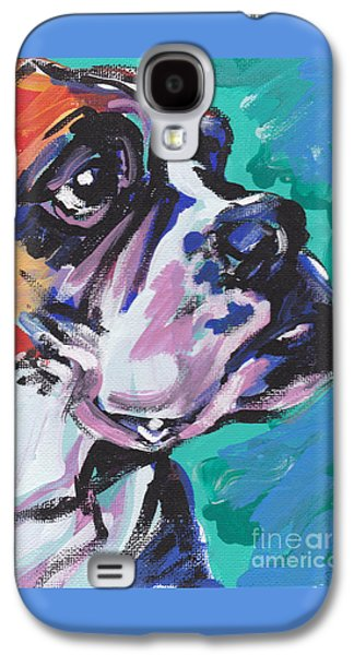 Boxer Galaxy S4 Cases - Outside The Box Galaxy S4 Case by Lea