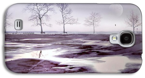 Beach Landscape Galaxy S4 Cases - Over and Over Again Galaxy S4 Case by Diana Angstadt