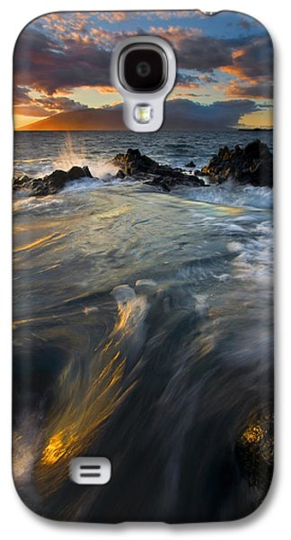 Floods Galaxy S4 Cases - Overflow Galaxy S4 Case by Mike  Dawson
