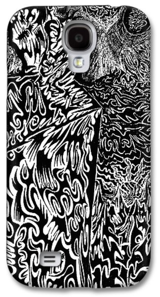Abstract Digital Drawings Galaxy S4 Cases - Overlord Galaxy S4 Case by AR Teeter