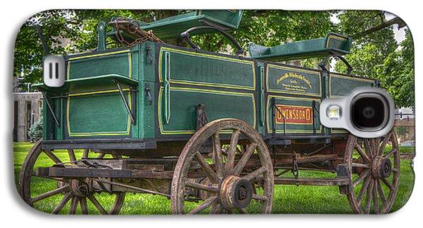 Owensboro Wagon Galaxy S4 Case by Wendell Thompson