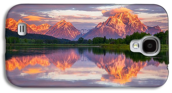 Landscape Acrylic Prints Galaxy S4 Cases - Oxbow Magic Galaxy S4 Case by Darren  White