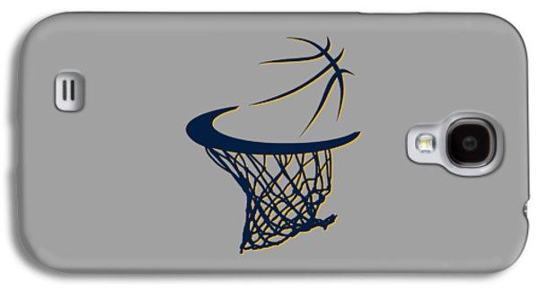 Pacers Basketball Hoop Galaxy S4 Case by Joe Hamilton