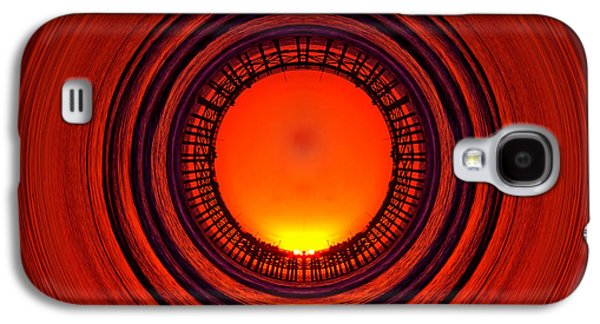 Pacific Beach Pier Sunset - Abstract Galaxy S4 Case by Peter Tellone