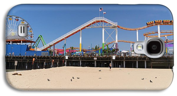 Rollercoaster Photographs Galaxy S4 Cases - Pacific Park at Santa Monica Pier in Santa Monica California DSC3696 Galaxy S4 Case by Wingsdomain Art and Photography