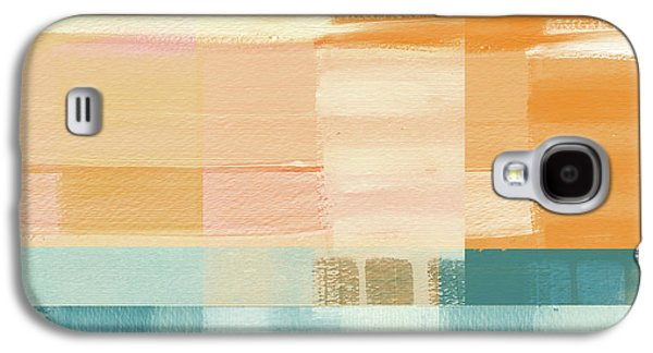 Pacific Sunset- Abstract Art By Linda Woods Galaxy S4 Case by Linda Woods